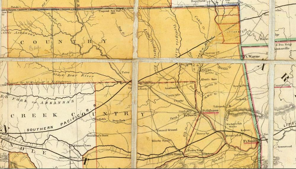 Ozarks Civil War Counties - Map Of Us Before Civil War